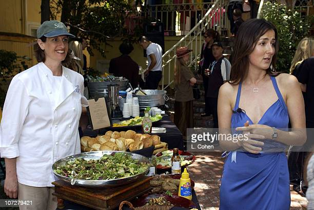 Chef Akasha Anna Getty during Sunset Marquis Oasis Hosts PreMTV Awards with SPIN Magazine Rock the Vote at Sunset Marquis Villas in West Hollywood...