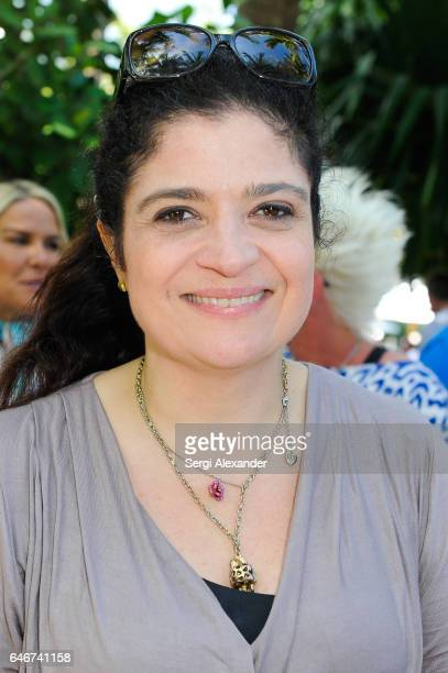 Chef Alex Guarnaschelli attends SiriusXM's Food Talk with Geoffrey Zakarian at Miami Beach EDITION on February 24 2017 in Miami Florida