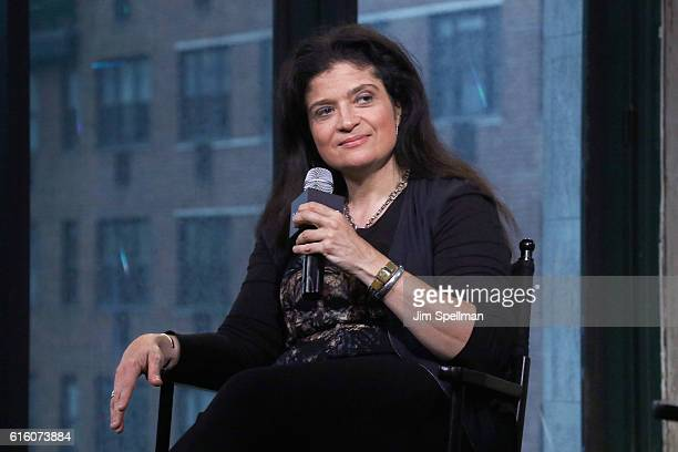 Chef Alex Guarnaschelli attends The Build Series Presents to discuss 'Chopped' with RavenSymone at AOL HQ on October 21 2016 in New York City