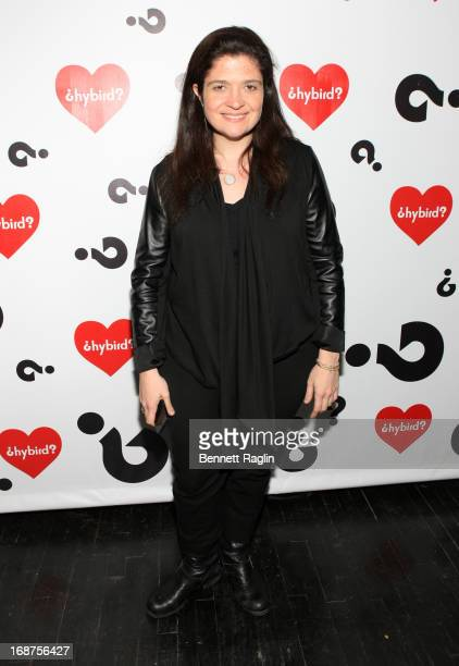 Chef Alex Guarnaschelli attends the Hybird opening night party presented by Questlove and Stephen Starr inside Chelsea Market on May 14 2013 in New...