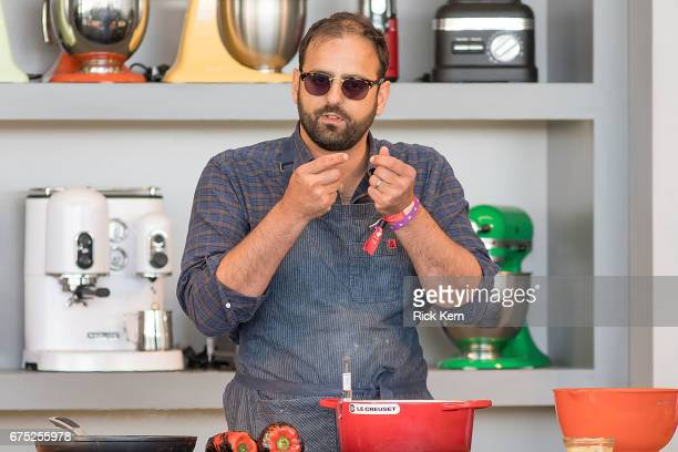 Chef Alon Shaya hosts 'It Ain't Easy Being Green' during the Austin FOOD WINE Festival at Auditorium Shores on April 30 2017 in Austin Texas