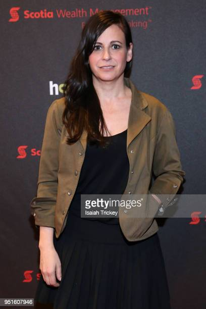 Chef Amanda Cohen attends the screening of 'The Heat A Kitchen evolution' at Hot Docs Ted Rogers Cinema on April 26 2018 in Toronto Canada