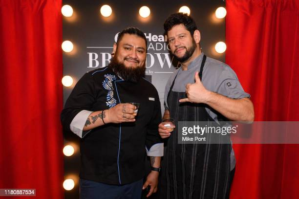 Chef Amitzur Mor attends Four Roses Bourbon's Broadway Tastes presented by iHeartRadio Broadway hosted by Alex Brightman with special guest Randy...
