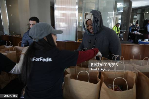 Chef and activist Jose Andres's food-relief organization World Central Kitchen serves free meals and goods to federal workers who have been effected...