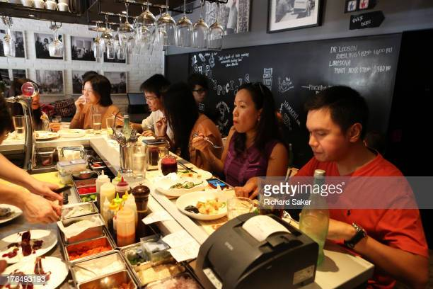 Chef and businessman Jason Atherton has launched a series of restaurants in the Far East is photographed for the Observer on May 11 2013 in Hong Kong...