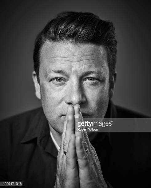 Chef and campaigner Jamie Oliver is photographed for the Times magazine on June 7 2019 in London England