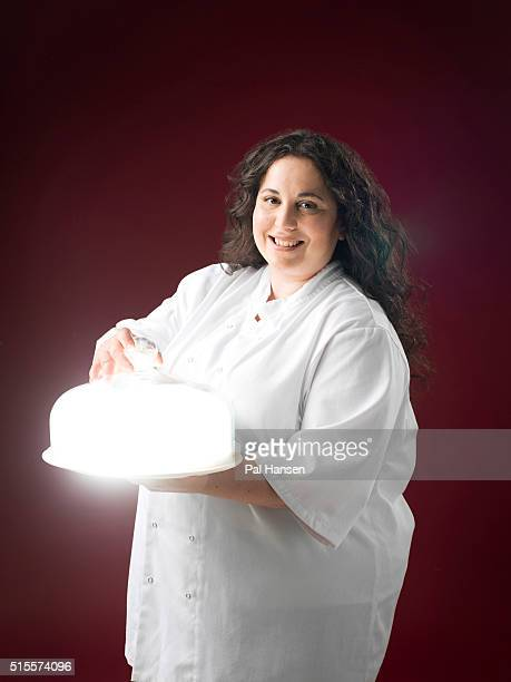Chef and cofounder of Honey Co Sarit Packer is photographed for the Observer on July 24 2015 in London England