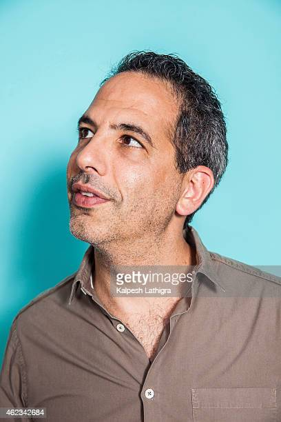 Chef and cookery writer Yotam Ottolenghi is photographed for Die Zeit magazine on August 1 2014 in London England