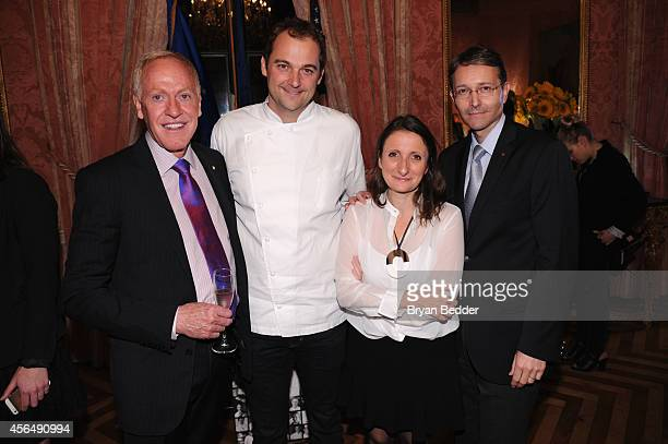 Chef and Owner of The Inn at Little Washington Patrick O'Connell chef Daniel Humm chef AnneSophie Pic and International CEO at Relais Chateaux...