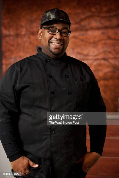 Chef and owner Oji Abbott photographed at Oohs and Aahhs on Georgia Avenue in Washington DC on January 11 2019