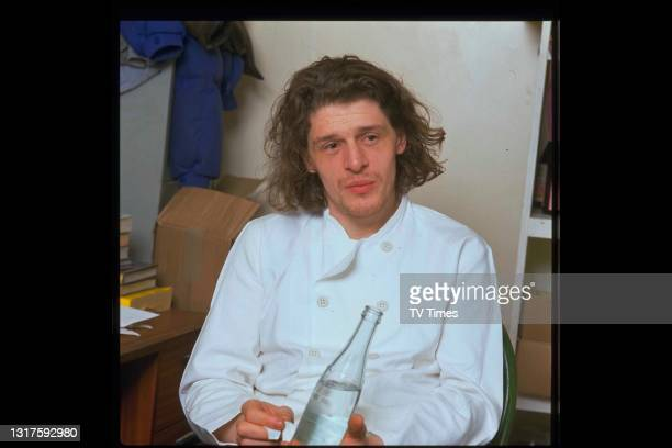 Chef and television personality Marco Pierre White, circa 1989.