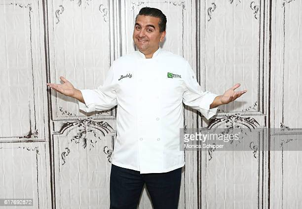 Chef and TV personality Buddy Valastro attends The Build Series Presents Buddy Valastro Discussing His New 'Rethink Sweet' Project at AOL HQ on...