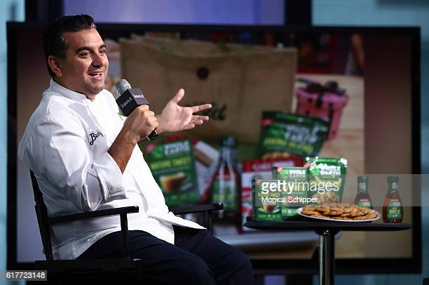 Chef and TV personality Buddy Valastro speaks at The Build Series Presents Buddy Valastro Discussing His New 'Rethink Sweet' Project at AOL HQ on...