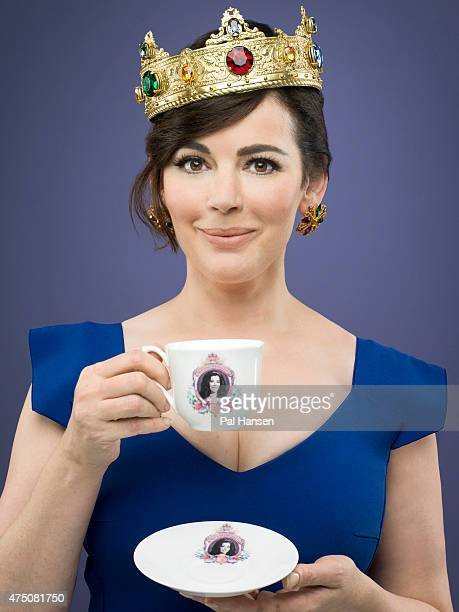 Chef and tv presenter Nigella Lawson is photographed for the Observer on August 19 2014 in London England