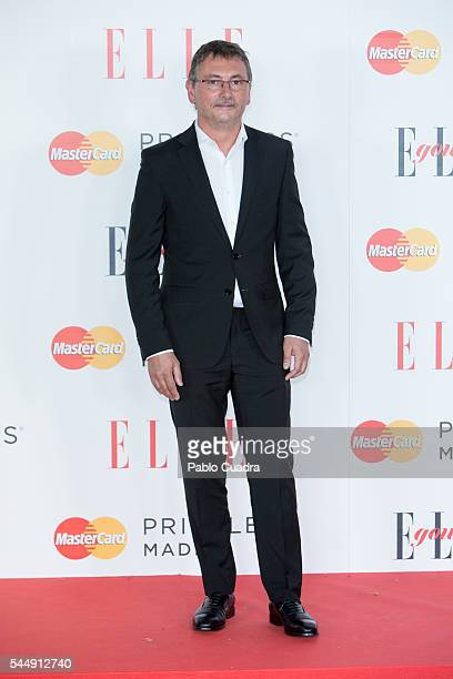 Chef Andoni Luis Aduriz attends 'Elle Gourmet' Awards 2016 party at the Italian Embassy on July 4 2016 in Madrid Spain