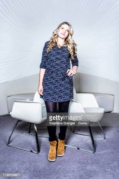 Chef Angele Ferreux Maeght poses during a photoshoot on November 16 2018 in Paris France
