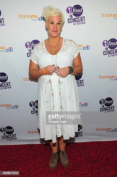 Chef Anne Burrell attends Food Network In Concert on September 20 2014 in Chicago Illinois