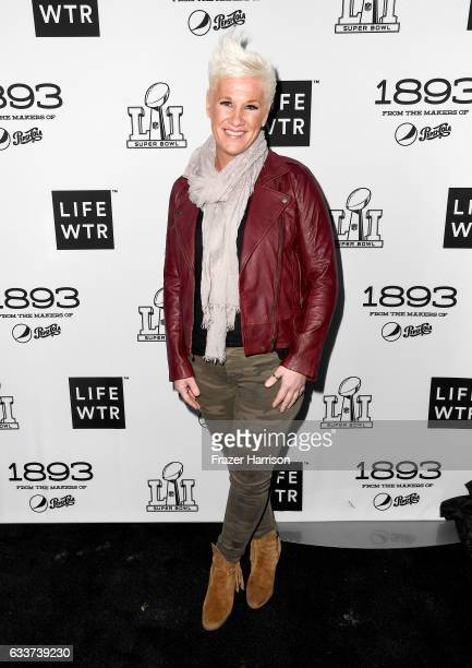 Chef Anne Burrell attends LIFEWTR Art After Dark including 1893 at Club Nomadic during Super Bowl LI Weekend on February 3 2017 in Houston Texas