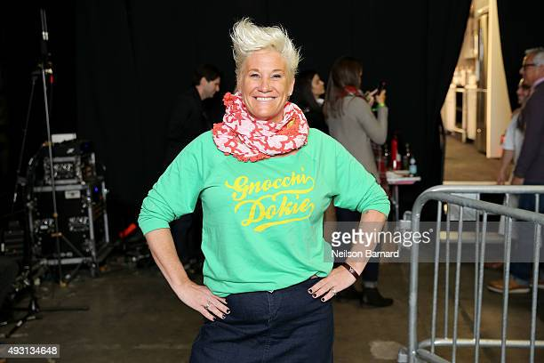 Chef Anne Burrell attends the Grand Tasting presented by ShopRite featuring Samsung culinary demonstrations presented by MasterCard Food Network...