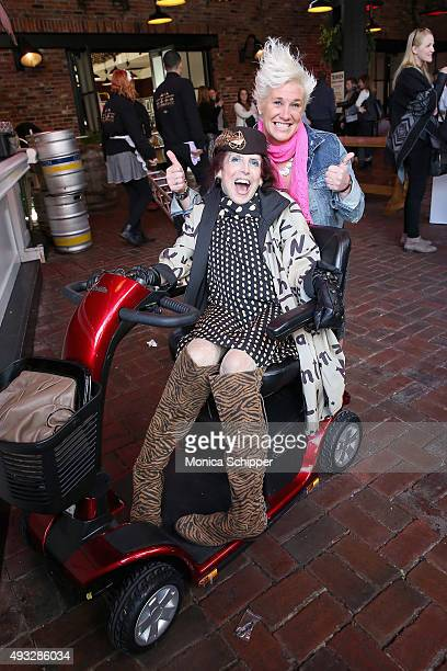 Chef Anne Burrell attends The Lobster Place Presents Oyster Bash Hosted by Anne Burrell partoOf LOCAL Presented By Delta Air Lines during Food...