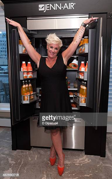Chef Anne Burrell attends the PFLAG HOT benefit at the JennAir Showroom on July 23 2014 in New York City