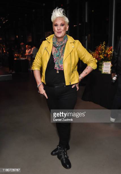 Chef Anne Burrell poses during Tiki Showdown presented by Bacardi Rums hosted by Anne Burrell during Food Network Cooking Channel New York City Wine...