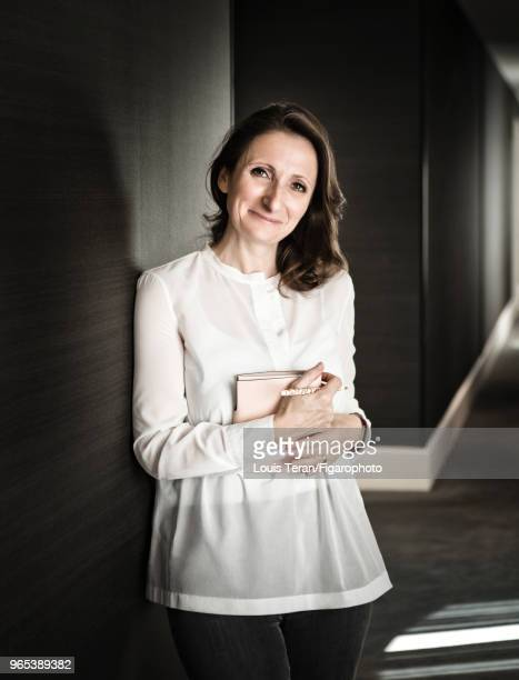 Chef AnneSophie Pic is photographed for Madame Figaro on July 11 2017 in Paris France PUBLISHED IMAGE CREDIT MUST READ Louis...