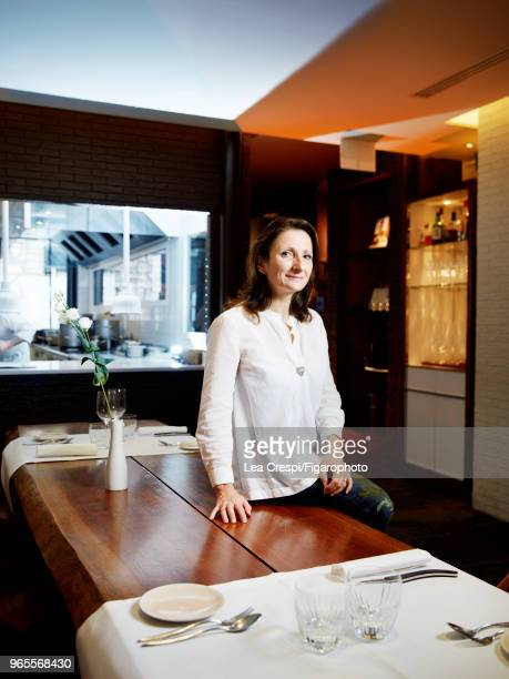 Chef AnneSophie Pic is photographed for Madame Figaro on September 28 2017 in Paris France PUBLISHED IMAGE CREDIT MUST READ Lea...