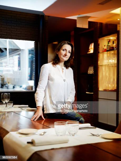 Chef AnneSophie Pic is photographed for Madame Figaro on September 28 2017 in Paris France CREDIT MUST READ Lea Crespi/Figarophoto/Contour RA