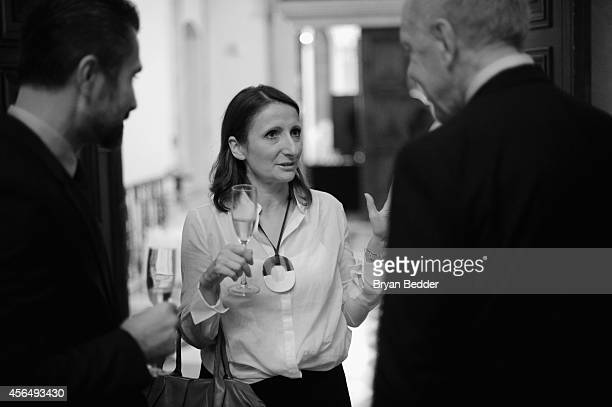 Chef AnneSophie Pic speaks with David Sinapian and Chef and Owner of The Inn at Little Washington Patrick O'Connell at RELAIS CHATEAUX 60th...