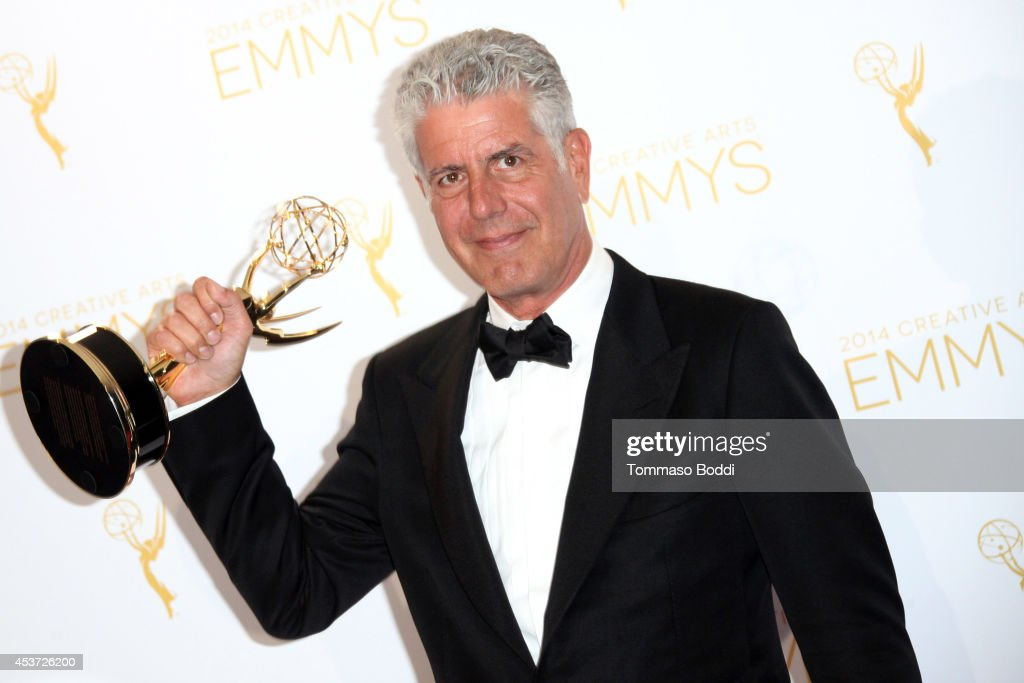 2014 Creative Arts Emmy Awards - Press Room : News Photo