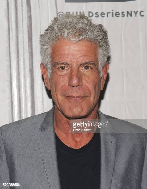 Chef Anthony Bourdain attends the Build Series Presents The Cast And Director Of The New Documentary 'Jeremiah Tower The Last Magnificent' at Build...