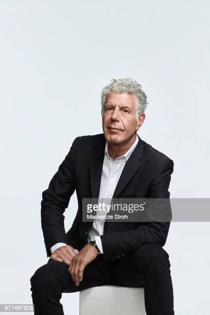 Chef Anthony Bourdain is photographed for Money Magazine on March 16 2018 in New York City