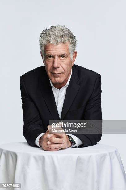Chef Anthony Bourdain is photographed for on March 16 2018 in New York City