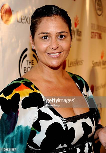 Chef Antonia Lofaso arrives at the Somaly Mam Foundation's 2nd annual Los Angeles Gala held at a private residence on September 29 2009 in Beverly...