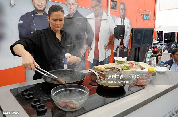 Chef Antonia Lofaso attends the 5th annual Top Chef The Tour at Gansevoort Plaza on May 20 2012 in New York City