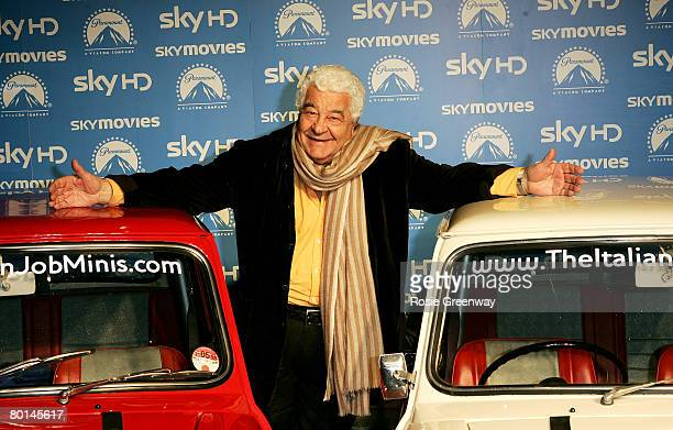 Chef Antonio Carluccio arrives at the world premiere of 'The Italian Job' in HD at the Soho Hotel on March 6 2008 in London England
