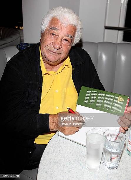 Chef Antonio Carluccio hosts a party to celebrate the release of his memoir 'A Recipe For Life' at Carluccio's Garrick Street on September 25 2012 in...