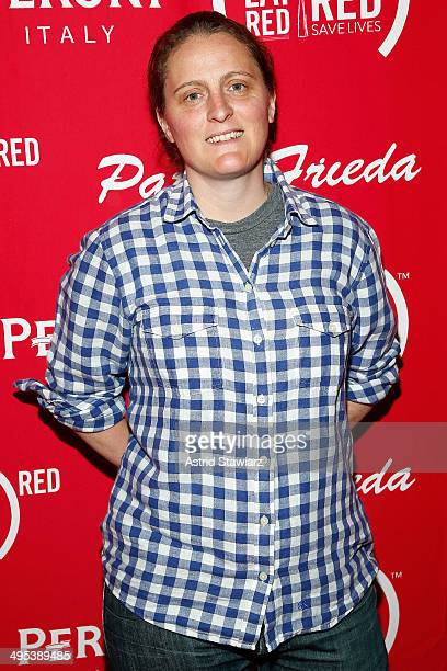 Chef April Bloomfield attends The Launch Of EAT DRINK SAVE LIVES at Eataly Birreria on June 2 2014 in New York City Photo by Astrid Stawiarz/Getty...