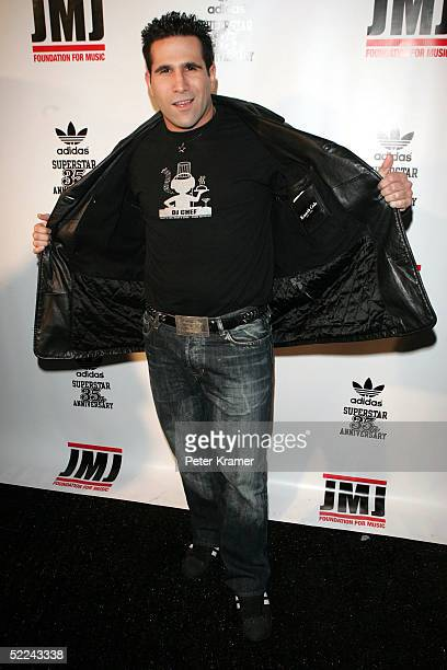Chef attends the 35th anniversary of the Adidas superstar sneaker honoring the life of Jam Master Jay on February 25 2005 in New York City
