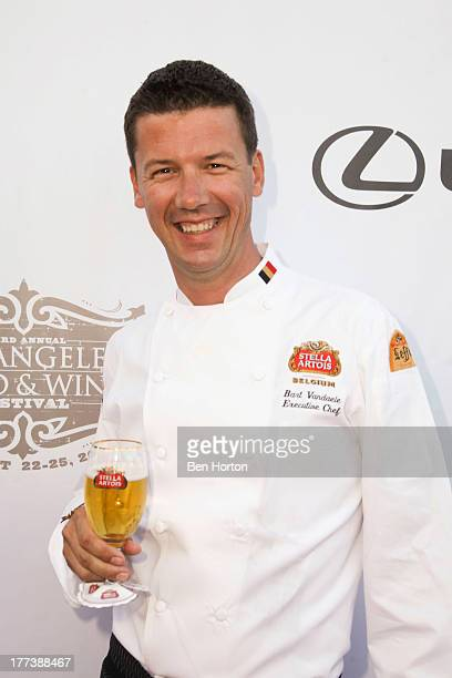 Chef Bart Vandaele attends the Festa Italiana with Giada de Laurentiis opening night celebration of the third annual Los Angeles Food Wine Festival...