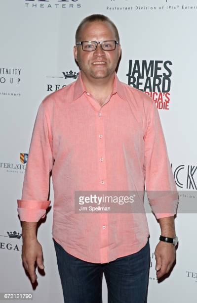 Chef Ben Pollinger attends the James Beard America's First Foodie NYC premiere at iPic Fulton Market on April 23 2017 in New York City