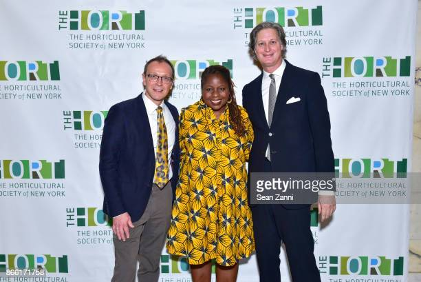 Chef Bill Telepan Veronica Chambers and Jared Goss attend Putting Good Food on the Table The Horticultural Society of New York's Annual Fall Luncheon...