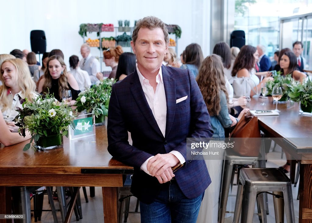 Chef Bobby Flay attends the 2017 #DrinkGoodDoGood Campaign Launch at Little River on August 9, 2017 in New York City.