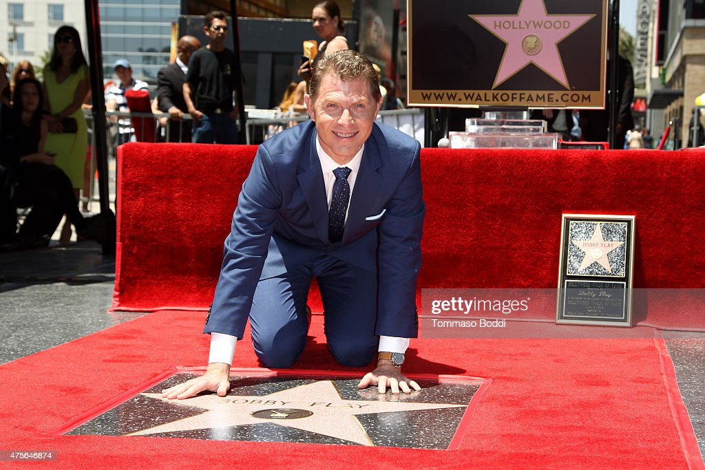Chef Bobby Flay Honored With Star On The Hollywood Walk Of Fame