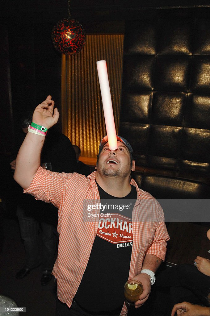 Chef Brian Duffy appears during a Platinum party at the Marquee Nightclub at The Cosmopolitan of Las Vegas during the 28th annual Nightclub & Bar Convention and Trade Show on March 20, 2013 in Las Vegas, Nevada.