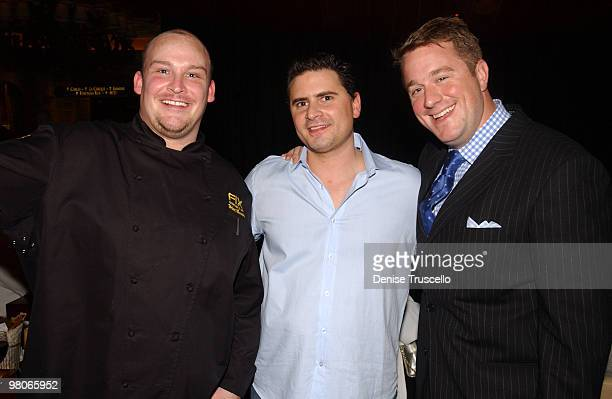 Chef Brian Massie Andrew Sasson and Oliver Wharton