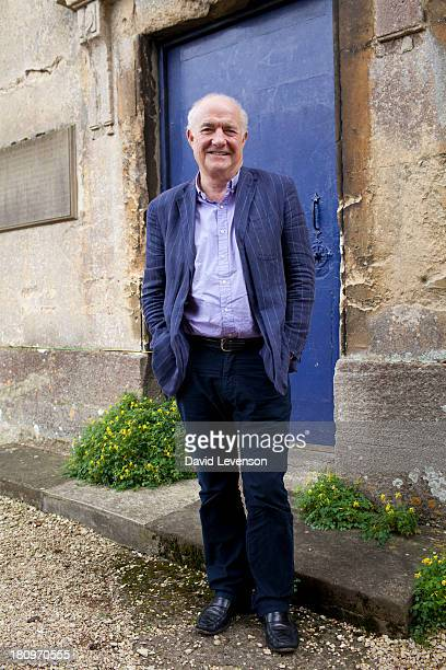 Chef broadcaster and food writer Rick Stein poses at the Blenheim Palace Literary Festival on September 18 2013 in Woodstock England