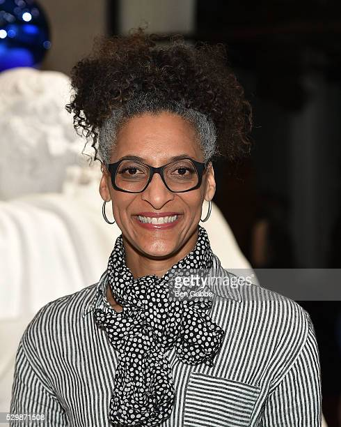 Chef Carla Hall attends the Jeff Koons x Google launch on May 09 2016 in New York New York