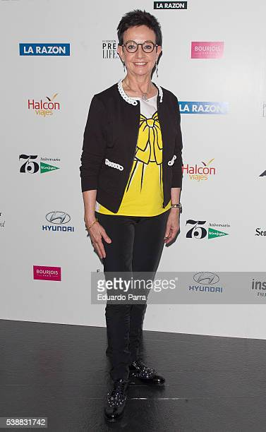 Chef Carme Ruscalleda attends the 'Lifestyle awards' photocall at Barcelo theatre on June 8 2016 in Madrid Spain